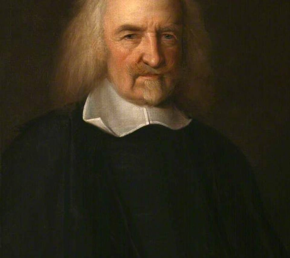 portrait de Thomas Hobbes